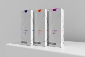 Image displaying different RHA Dermal Fillers products, RHA 2, RHA 3, RHA 4, Long beach, CA